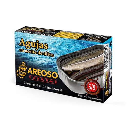 Agujas en Aceite de Oliva 5-9 Areoso Gourmet