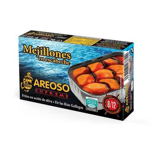 Mejillones en Escabeche Areoso Gourmet 8-12