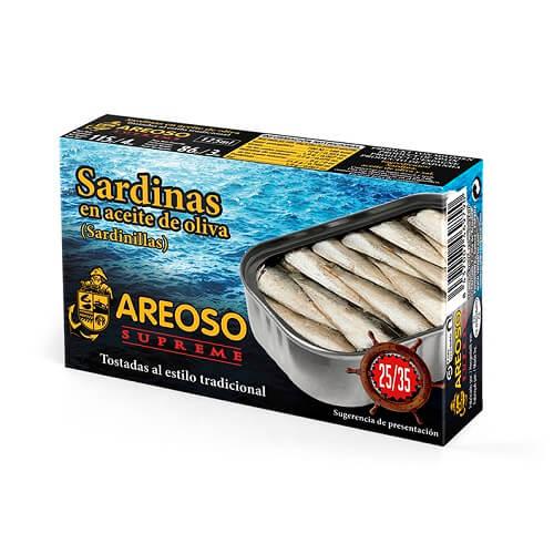 Sardinilla en aceite de oliva 25_35 Areoso Gourmet