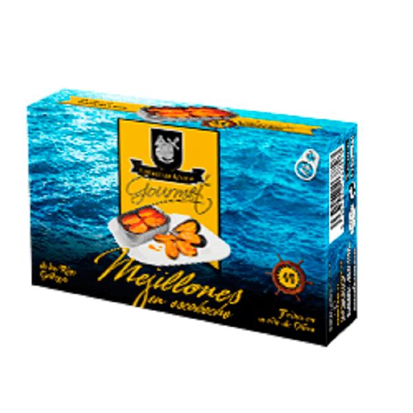 Mejillones en Escabeche Areoso Gourmet 4-6 Piezas