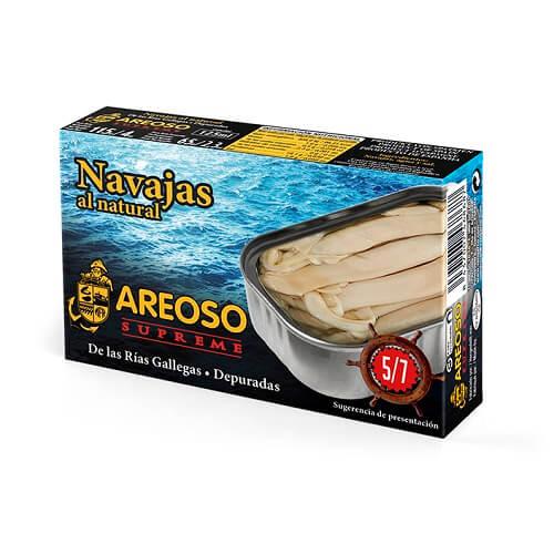 Navajas al Natural Areoso Gourmet 5-7