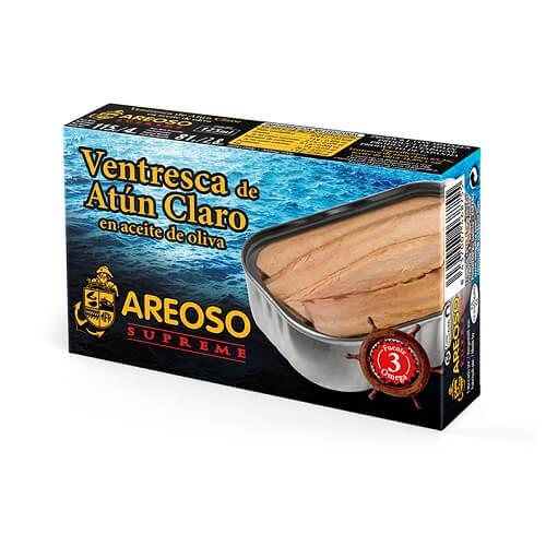 Ventresca de Atún en Aceite de Oliva Areoso Gourmet