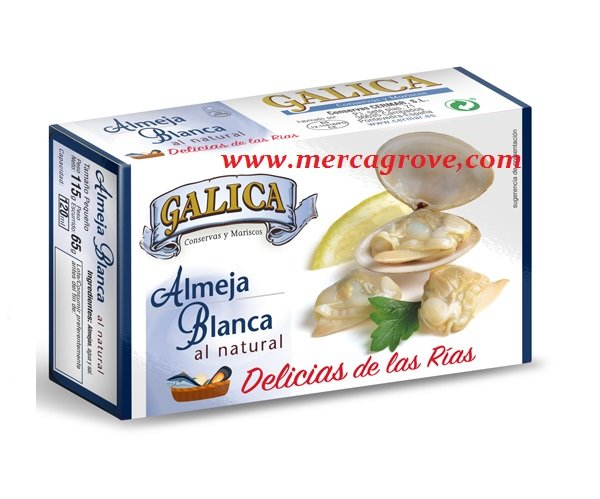 Almejas al Natural GALICA