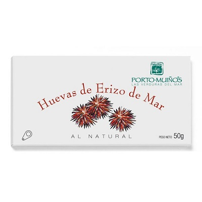 Huevas de Erizo de mar al natural