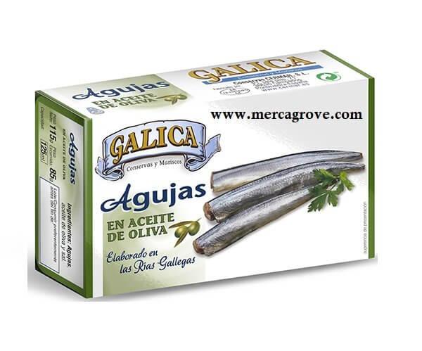 Agujas en Aceite de Oliva Galica