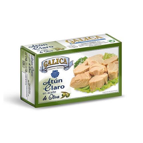 Atun Claro Aceite Oliva Galica 111 gr