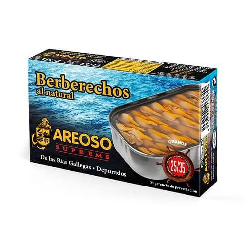 Berberecho al Natural Areoso Gourmet 25-35