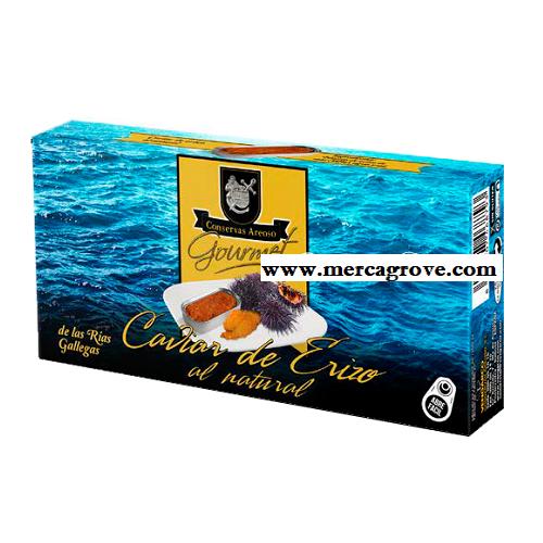 Caviar de Erizo al Natural Areoso Gourmet