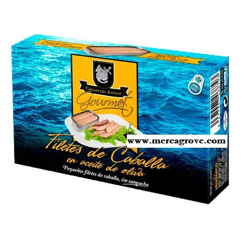 Filete Caballa Aceite Oliva Areoso Gourmet