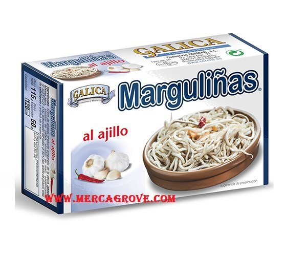 Margulinas al Ajillo Galica