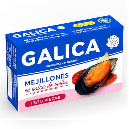 Mejillones en Salsa de Vieira Galica 13-18 mercagrove