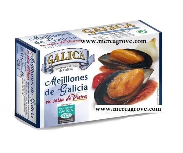 Mejillones en Salsa de Vieira Galica 13-18