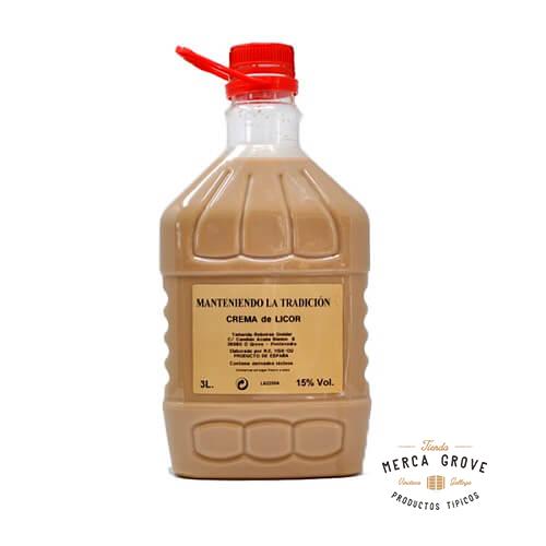 Crema de Orujo Artesana 3 litros Casera