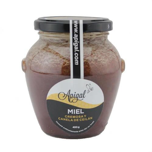 Miel Cremosa con Canela de Ceilan APIGAL