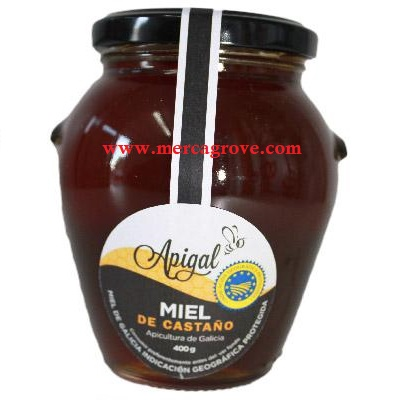 Miel de Castano Apigal Bote 400 gr