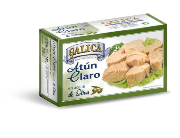 Atún Claro Aceite Oliva Galica 220 gr