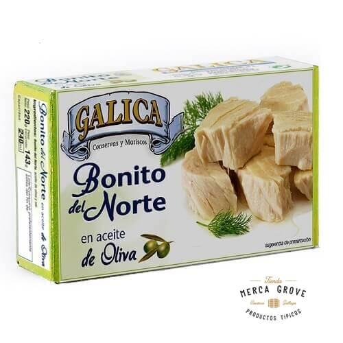 Bonito del Norte Galica en Aceite de Oliva