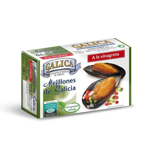 Mejillones en Vinagreta Galica