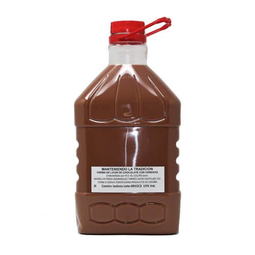 Crema Chocolate con Cerezas Artesana 3 Litros