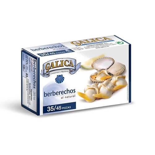 Berberechos Natural GALICA 35-45