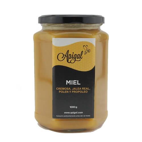 Honey Royal Jelly Polen Propopleo APIGAL 1 KG